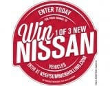 nissan keep summer rolling sweepstakes