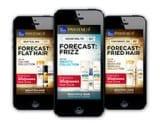 Pantene marketing weather app